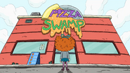 So this is pizza swamp