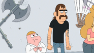 Mel ignora a Clarence