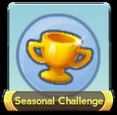 Seasonal challenge button