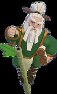 Master Warden 3D Air pose
