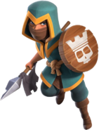 Clash-of-clans-rogue-champion-royale-champion-skin-png-render-free