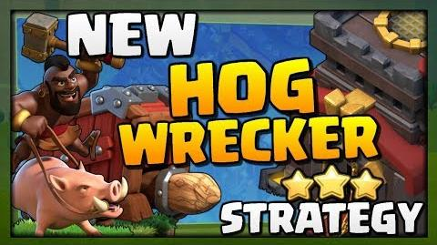 New HOG WRECKER Attack Strategy at Town Hall 10 in Clash of Clans Best TH10 Attack Strategy!