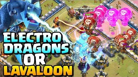 LAVALOON or ELECTRO DRAGONS - Which is Best? TH12 Attack Strategy Clash of Clans