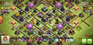 1,745,000 mil each of gold and elixir with 11,900 dark