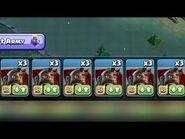Clash of clans- builder base - spam hog glider attack for 3 stars.