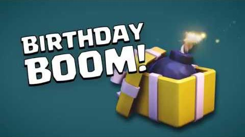 Clash of Clans The Wizard's Birthday Boom (Builder Has Left Week 4)