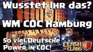 Insider Infos zu COC und zur Weltmeisterschaft in Hamburg So viel Deutsch steckt in COC!