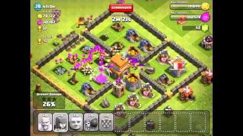 Archer spamming on clash of clans