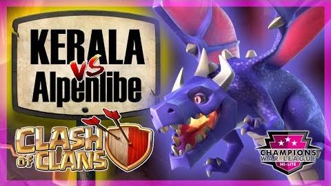 KERALA defeating Alpenlibe 💪 CWL Hi-Lite Playoffs Clash of Clans