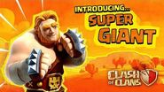 Super Giant Ready For A Brawl! (Clash of Clans Super Troops 3)
