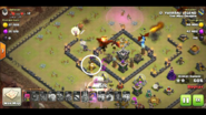 Logan yuvaraj's TH9 QC Zap Dragon war base 1 AQ taking out 2nd AD