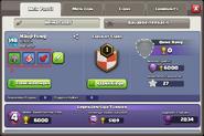 Spielertags vorhanden Profil