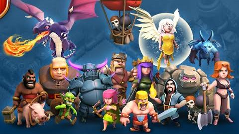 Clash of Clans - база на миллион (The League of Titans, TH10 the base per million)