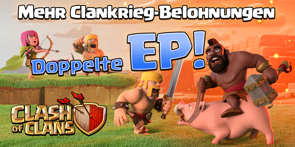 ChristianClash/Doppelte Clankriegs-EP-Event im November