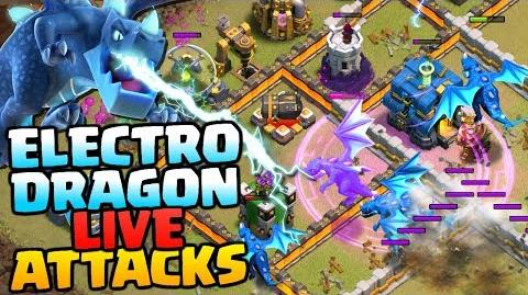 ELECTRO DRAGON LIVE ATTACKS Town Hall 12 Attack Strategy Clash of Clans