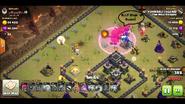 Logan yuvaraj's TH9 QC zap Dragon war base 1 Dragons Engage Enemy CC with rage spell