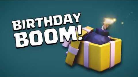 Clash of Clans Birthday Boom (Builder Has Left Week 4)