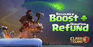 Resource boost