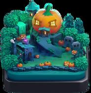 Scenery Pumpkin Graveyard