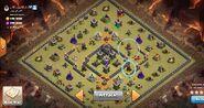 Logan yuvaraj's TH9 QC Zap Dragon war base 1 base over view Edited