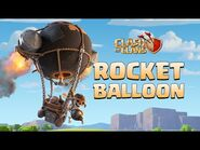 New Super Troop- ROCKET BALLOON! (Clash of Clans Official)