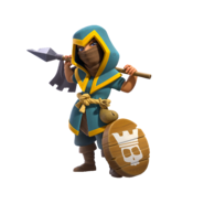 Clash-of-clans-rogue-champion-royale-champion-skin-png-render
