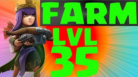 Clash_of_Clans_Gemming_LvL_35_Queen!_Level_35_Queen_Gameplay_&_more!