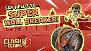 Super Wall Breaker Goes BOOM! (Clash of Clans Super Troops 4)