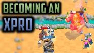 GOING PRO WITH X-BOW! - Episode 16 - Clash Royale Ladder Pushing Series