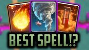 WHAT IS CLASH ROYALE'S BEST SPELL? Clash Royale Spells Tier List