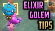 ELIXIR GOLEM BEST DRAFT TIPS AND TRICKS Clash Royale Draft Special Challenge Strategy!