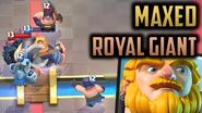 Ending my ladder career by maxing Royal Giant..