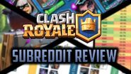 CR BEST DECK HISTORY, YOUTUBER'S CHALLENGE STATS, COUNTER FURNACE, AND MORE - r ClashRoyale Roundup