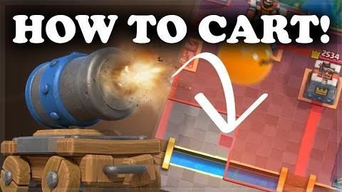 How to Use & Counter Cannon Cart Clash Royale