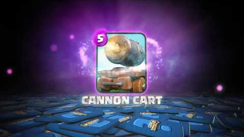 Clash Royale THE CANNON CART! (New Clash Royale Card!)