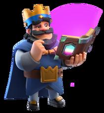 King holding Magic Item.png