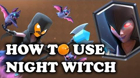 How to Use & Counter Night Witch Clash Royale