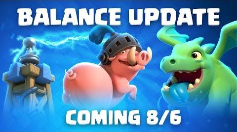 Clash Royale Balance Update Coming! (8 6)
