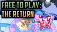 THE RETURN OF THE FREE TO PLAY SERIES! Clash Royale Free to Play Series Episode 26