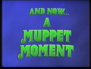 And Now... A Muppet Moment