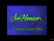 Jim Henson Video - Coming Early 1994