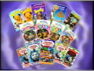 All these children's videos titles (1997)
