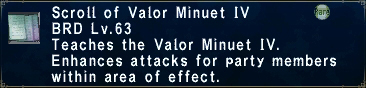 Valor Minuet IV