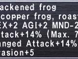 Blackened Frog