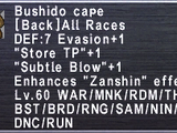 Bushido Cape