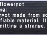 Arcane Flowerpot