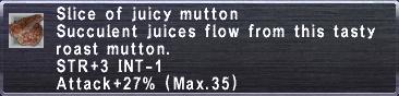 Juicy Mutton