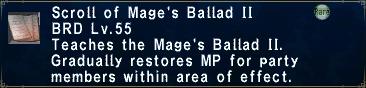 Mage's Ballad II