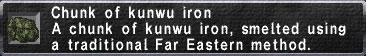 Kunwu Iron