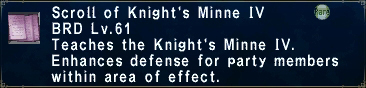 Knight's Minne IV